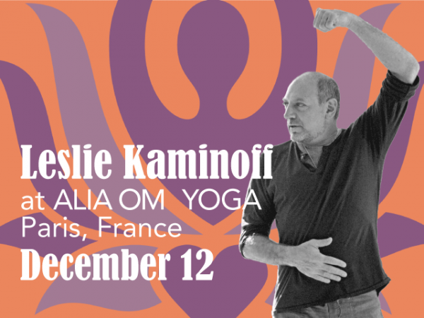 Leslie Kaminoff at Alia Om Yoga